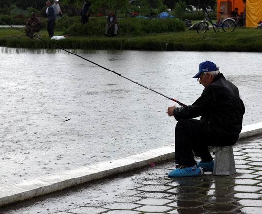 какая рыба клюет в дождь на реке