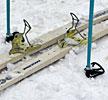 ВОдинцово прошла лыжная эстафета школьников, лыжная эстафета