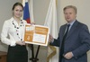 Корреспондент «Одинцово-ИНФО» стала послом
