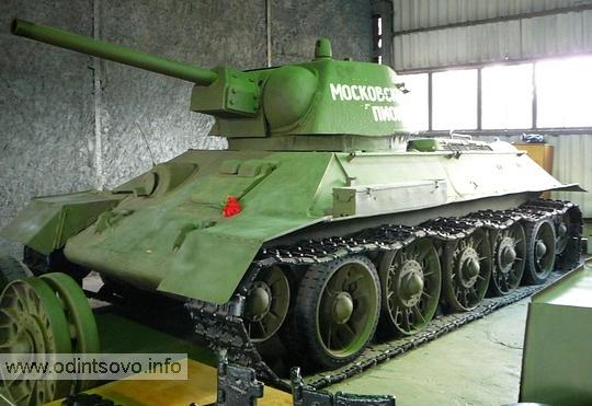 Танк Т-34 «Московский пионер»