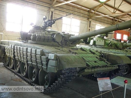 Основной танк Т-72АВ
