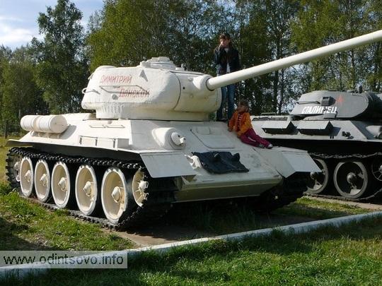 Танк Т-34-85 «Дмитрий Донской»