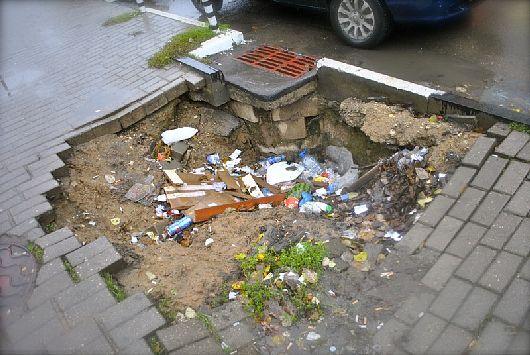 Ливневые канализации должны быть взяты под контроль.