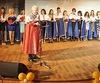 Выпускникам вручили дипломы,  главу поздравили сюбилеем