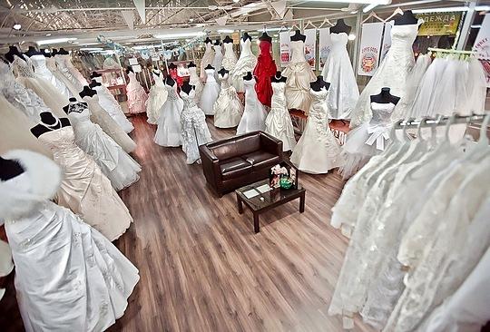 094598e3a4b8 В Одинцово открылся самый большой магазин свадебных платьев