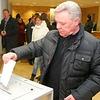 Как ГРОМОВ голосовал вОдинцово (фото + видео), Громов, выборы 4 марта, губернатор