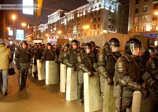 Митинг, Пушкинская площадь, 5 марта