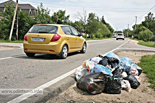 Дачников будут ловить за сбросом мусора в неположенных местах