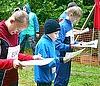 ВОдинцово прошли соревнования, кто лучше ориентируется влесу