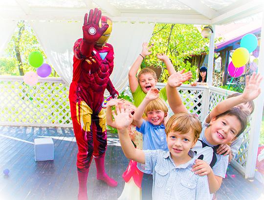 детский праздник для ребенка 4 лет