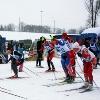 ВОдинцово открыли лыжный сезон, лыжные гонки, сезон, снег