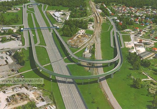 Минское шоссе, развязка