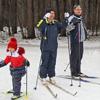 Собрание общественников вформате «без галстуков», Общественная палата Одинцовского района, лыжероллерная трасса, лыжная гонка, традиция