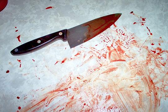 18-летняя жительница Никеля набросилась на мужчину с ножом