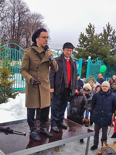 Максим Галкин на митинге против застройки территорий Новой Москвы
