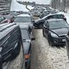 Открытие лыжного сезона ознаменовалось автомобильной пробкой вСпортивном парке Одинцово