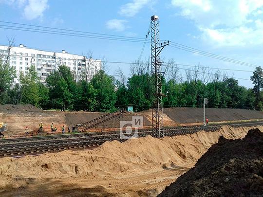 НаБелорусском направлении произошел сбой вдвижении электричек