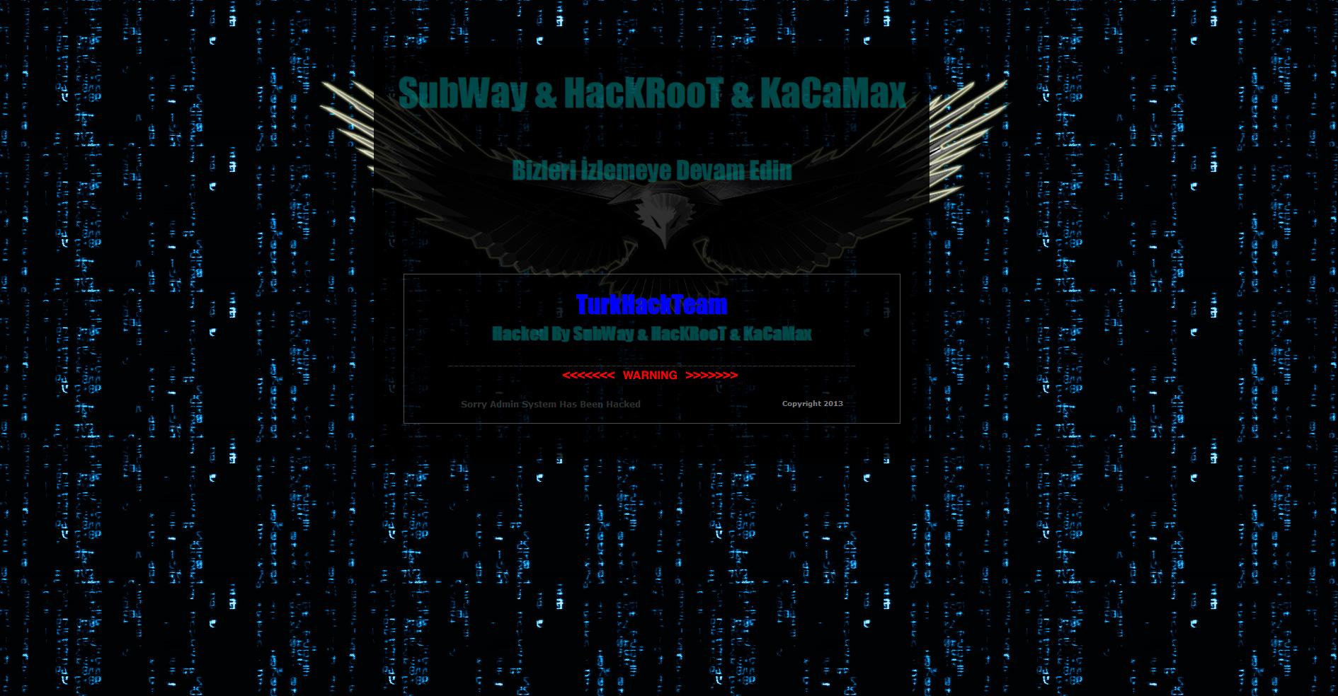 Сайт СОК ОГИ взломали