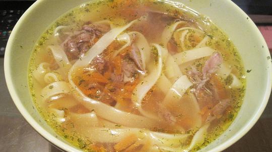 Суп с уткой пошаговый рецепт с