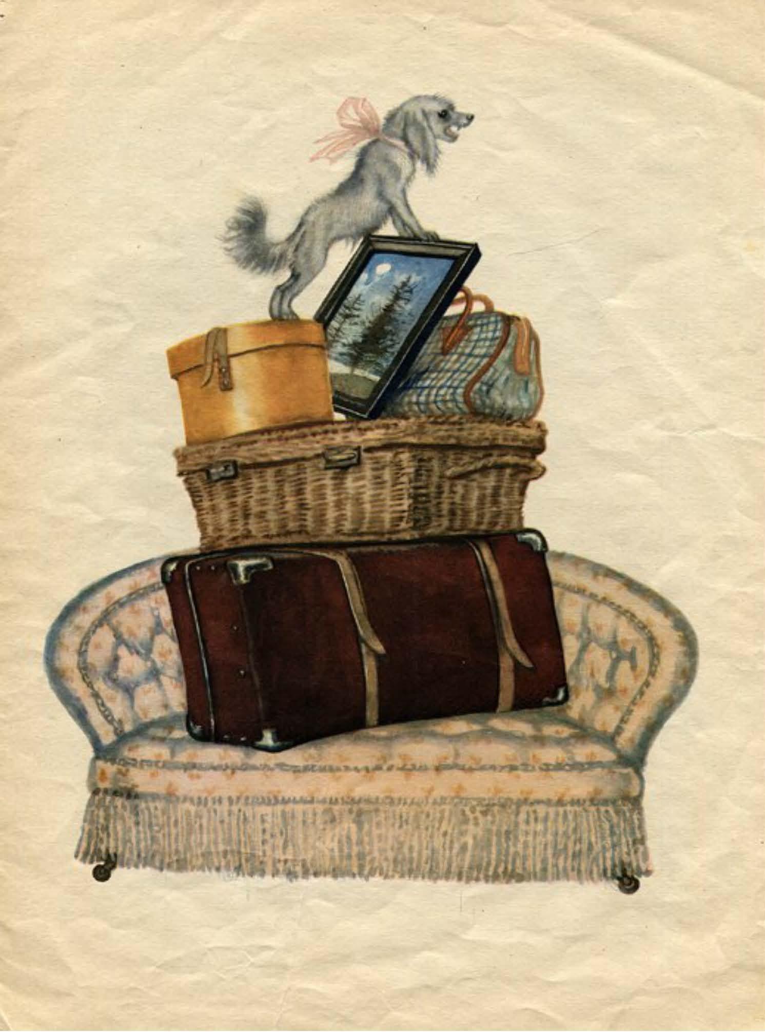 Картинки к сказке багаж