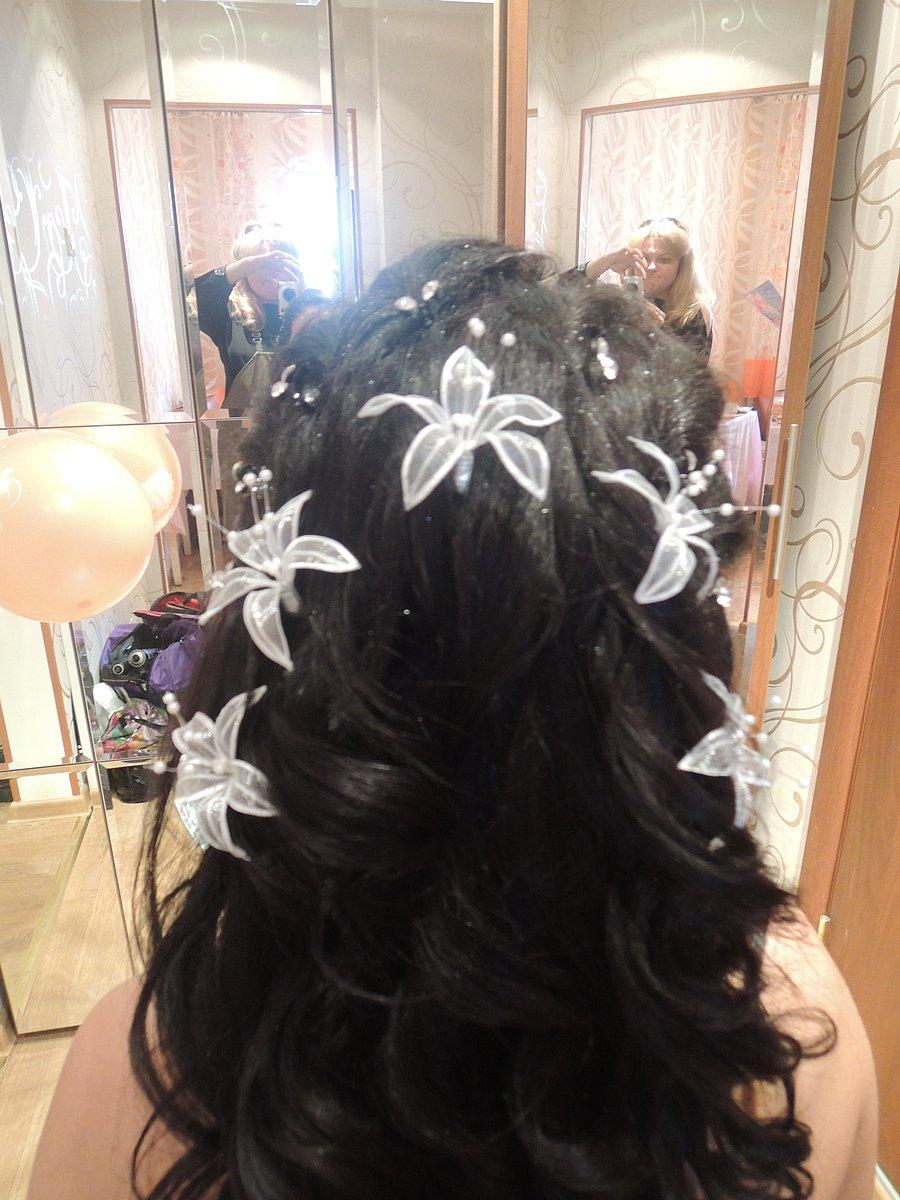 Причёски из крупных локонов