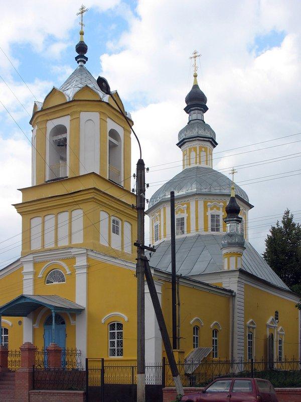 Церкви брянская область