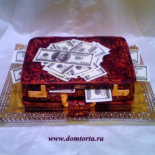 Фото тортов для мужчин чемодан