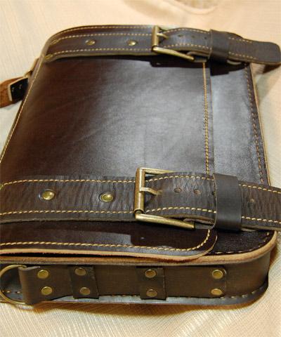 Как сшить мужской портфель своими руками из кожи