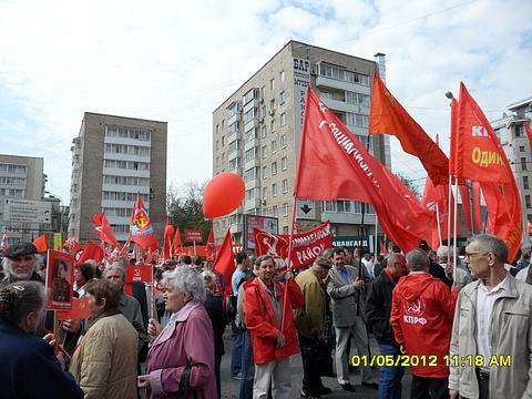 1 мая на улицах Москвы., nkolbasov, Одинцово, Ново-Спортивная  д.6
