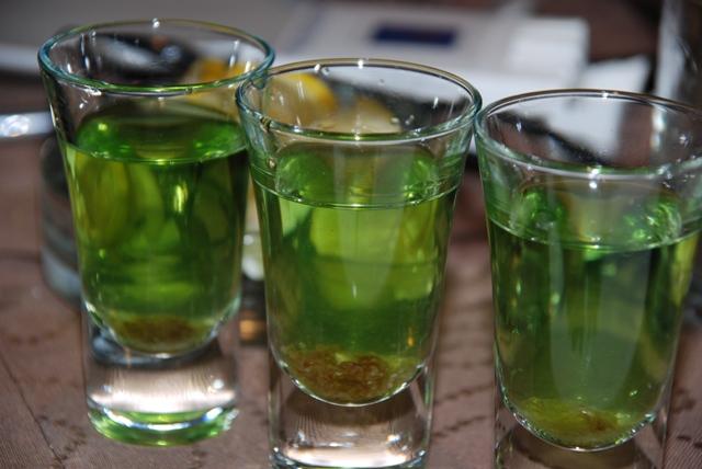 Абсент из спирта в домашних условиях