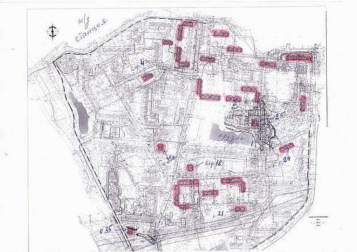 Схема постройки домов в 8