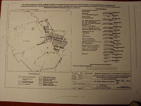 Всего (и только то что известно пока) речь идет одвух полях вне!!! населенных пунктов…3,2и3,3ГА… «Можайская гавань» и«Криушино. ру»… Полагаю, непоследние…и непервые…, Бородино. АКТ выбора земель Музея, подписанный Директором, ostroww
