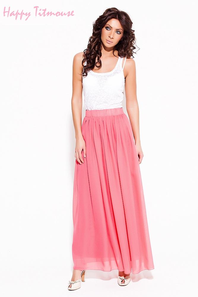 Летние длинные юбки и платья