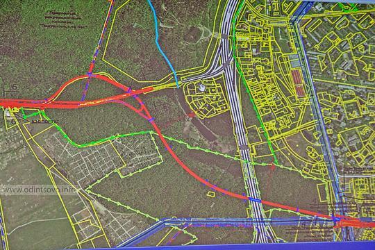 Реконструкция Красногорского шоссе, Новое направление «Красногорское шоссе — Можайское шоссе»