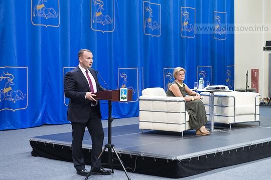 Захар ИВАНОВ и Лариса ЛАЗУТИНА выступают за городской округ
