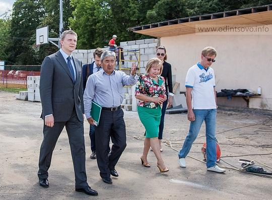 ВОдинцовском районе откроется обновленная хоккейная площадка