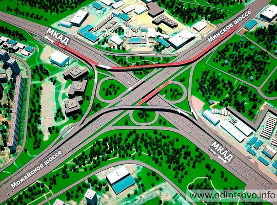 Развязку МКАД-Можайское шоссе