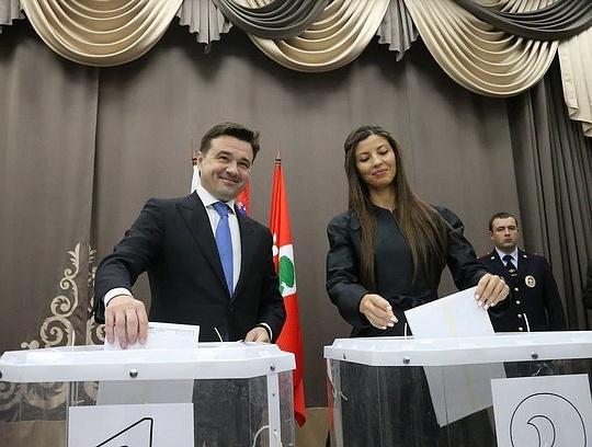Андрей ВОРОБЬЕВ проголосовал вКЦ «Барвиха»