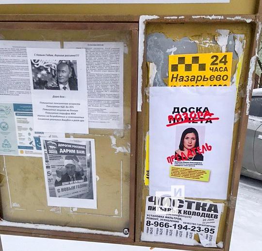 Протест вНазарьево, Протест вНазарьево