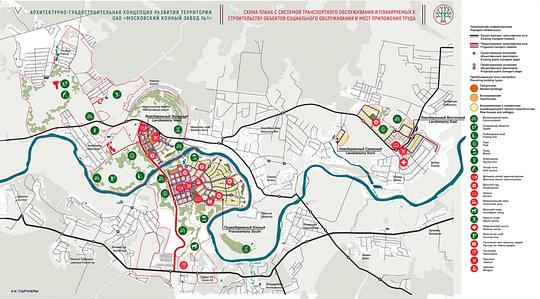 Схема плана застройки, Власти Москвы готовят застройку полей уНиколиной Горы