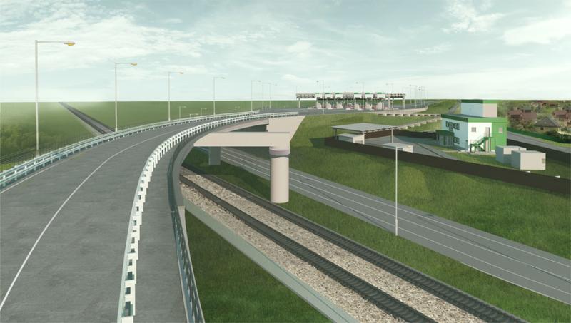 Проект платного путепровода вСаввинской Слободе, Первый платный путепровод начали строить вОдинцовском округе