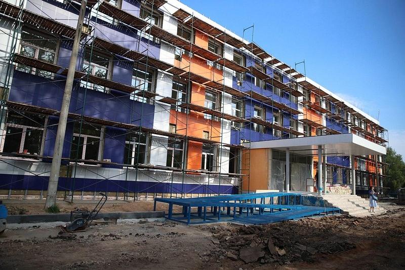 Здание Новогородковской средней школы, Школа в Новом Городке: будет ли завершён ремонт к 1 сентября