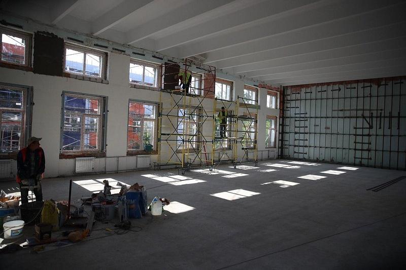 Работы в помещениях школы, Школа в Новом Городке: будет ли завершён ремонт к 1 сентября