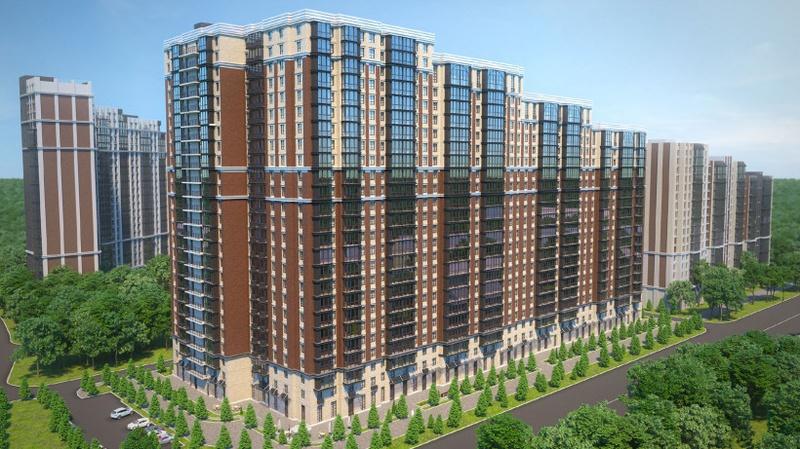 Проект: новая жилая застройка в8-м микрорайоне Одинцово, Главгосстройнадзор разрешил застройщику многоэтажки в8-м микрорайоне Одинцово заключать договоры сдольщиками