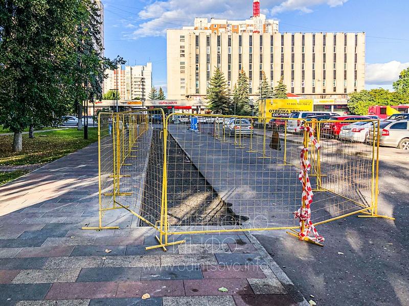 Огорожена дополнительная территория, Парковку у администрации Одинцовского округа сделают платной