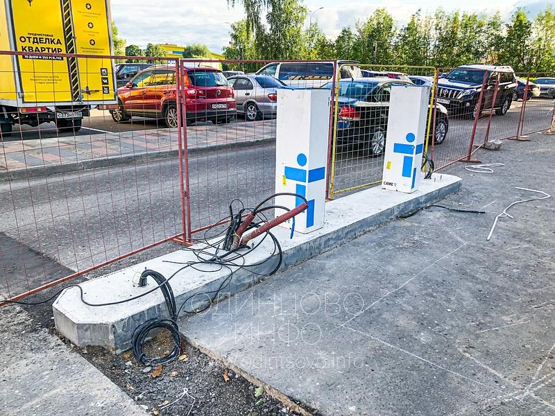 Парковку у администрации Одинцовского округа сделают платной