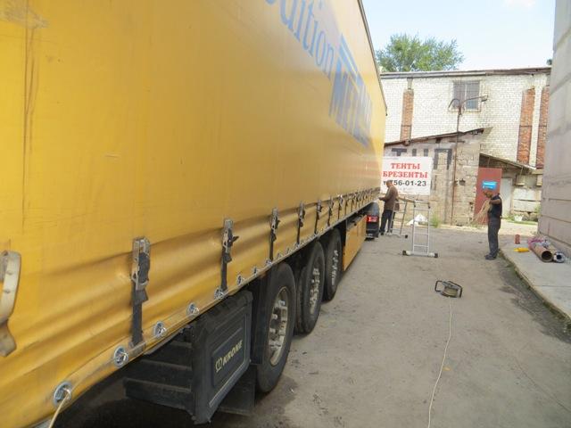 Тент для грузового автомобиля, Особенности изготовления тентов для грузовых автомобилей