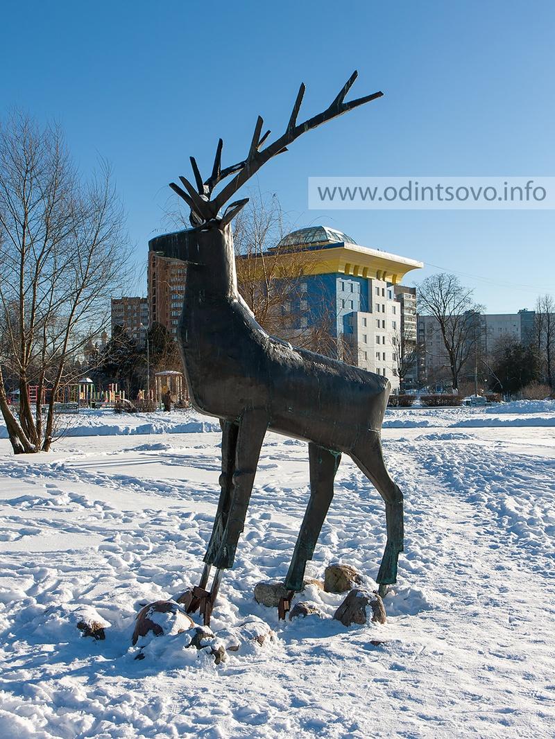 Центр, Одинцово центр, зима