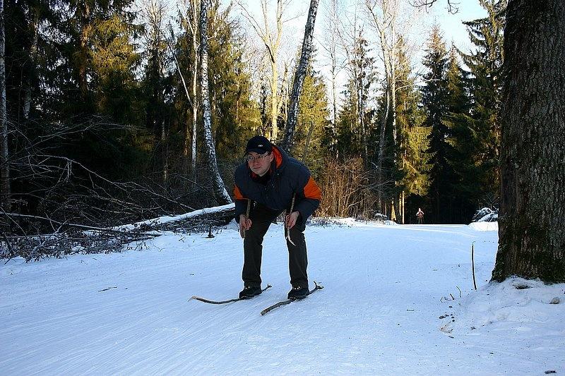 лыжня..., Лыжная трасса, mixx