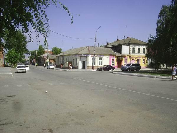Улицы Маркса. Центр города